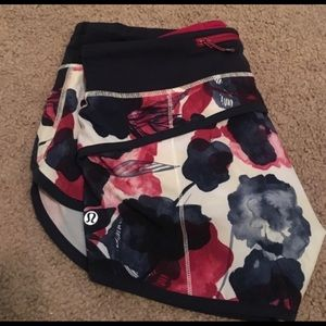 RARE lululemon speed shorts